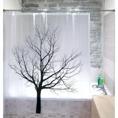 Perdea pentru baie Tree
