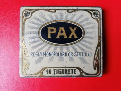 Cutie tigari tigarete Pax Pacea de la Bucuresti foto