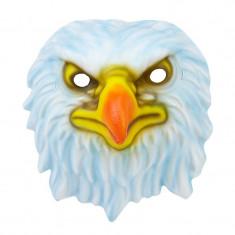 Masca Eagle Blue, fixare banda elastica, 22x22 cm, vinil
