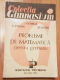 Probleme de matematica pentru gimnaziu de Ion Petrica, C. Stefan
