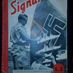 """REVISTA DE PROPAGANDA HITLERISTA """"SIGNAL"""", NUMARUL 14 DIN 2 IULIE 1941 - SIGNAL, REVISTA DE PROPAGANDA HITLERISTA, NUMARUL 14 DIN 2 IULIE 1941"""