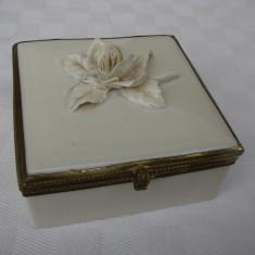 Frumoasa cutie din portelan vechi german, anii 1960, Decorative