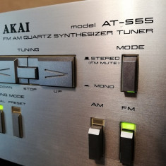 Tuner AKAI model A-S55 - Rar/Vintage/Impecabil/made in Japan, Analog