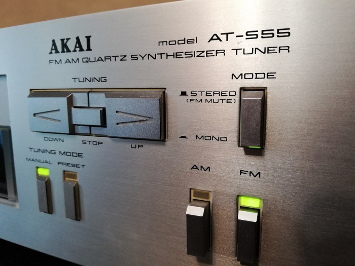 Tuner AKAI model A-S55 - Rar/Vintage/Impecabil/made in Japan