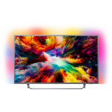 Televizor LED 65PUS7303/12, Smart TV Android, 164 cm, 4K Ultra HD, Ambilight, 165 cm, Philips