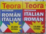 DICTIONAR ROMAN-ITALIAN, ITALIAN-ROMAN 15.000 CUVINTE-ALEXANDRU BALACI