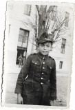 D443 Fotografie elev militar roman anii 1930
