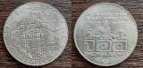 (A41) MONEDA DIN ARGINT AUSTRIA - 100 SCHILLING 1976,JOCURILE OLIMPICE INNSBRUCK, Europa
