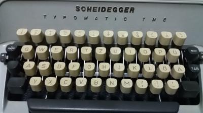 masina de scris foto