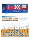 Senator Popular 200 - Pachet 10 cutii tuburi tigari pentru injectat tutun
