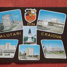 Salutari din Craiova - vedere circulată