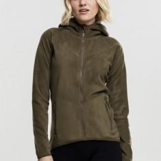 Ladies Polar Fleece Zip Hoody