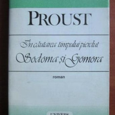 Sodoma si Gomora  / M. Proust  Vol.3