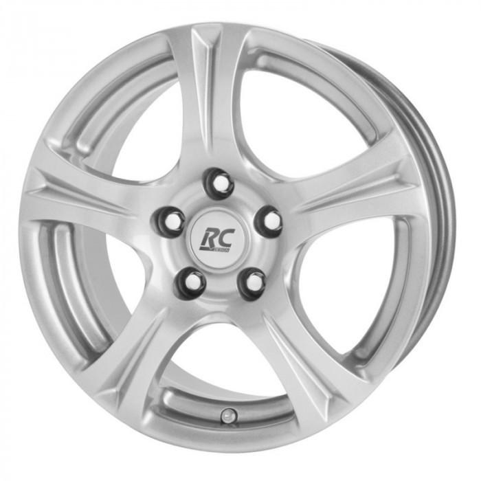 Jante FORD FUSION 6J x 14 Inch 4X108 et38 - Rc Design Rc14 Kristallsilber - pret / buc