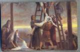 AX 396 CP VECHE -RELIGIOASA - COBORAREA LUI ISUS DE PE CRUCE -SFANTA SCRIPTURA