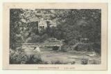 cp Herculane - circulata 1922, timbre