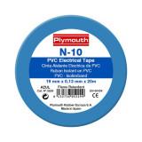 PLYMOUTH banda izolatoare N10 19mmx20M - albastru