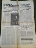 Ziarul Scanteia 22 octombrie 1989