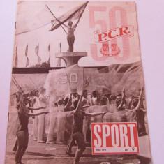 Revista SPORT-nr.9/05.1971 (Iugoslavia-Romania)