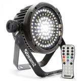Beamz BS98 LED-STROBE STROBOSCOP, 98XSMD-LEDS DMX, telecomandă IR, alb