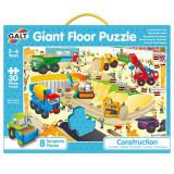 Puzzle Podea: Santierul (30 piese) PlayLearn Toys, Galt