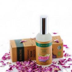 Apa florala organica de trandafiri, Biorose, 100 ml