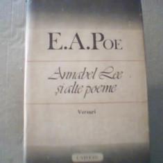 E.A. Poe - ANNABEL LEE SI ALTE POEME { 1987 }