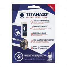 Folie de protectie Titanaid tip gel, pentru telefoane, universala