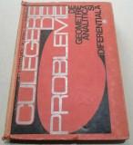 Postelnicu Culegere de probleme de geometrie analitica si diferentiala 1970