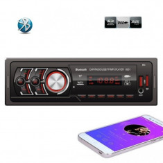 Radio MP3 Player Auto cu Bluetooth USB si Card Reader Telecomanda 6001