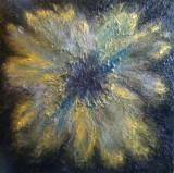 """Tablou în ulei """"Sleeping Flower"""""""