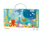 Puzzle - Animalute marine (80 piese) PlayLearn Toys, Dodo