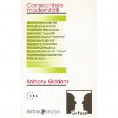 Consecintele modernitatii - Anthony Giddens