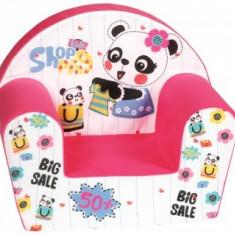 Fotoliu Copii Soft din burete Kids Shopping