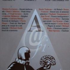 Agora, vol. 6, nr. 2/iulie-decembrie 1993