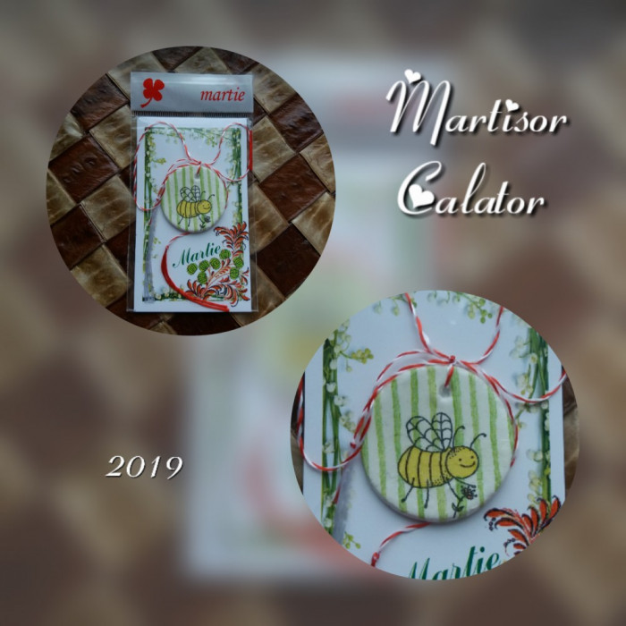 """Martisor Albina """"Model 86"""""""