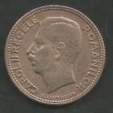 ROMANIA CAROL II 10 LEI 1930 , PARIS [1] livrare in cartonas, Cupru-Nichel