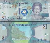!!!  CAYMAN  ISLANDS  -  1  DOLAR  2018 , COMM.  -  P NEW  -  UNC