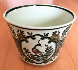 Ghiveci pentru flori - Villeroy and Boch - Paon - pictat manual
