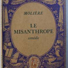 LE MISANTHROPE - comedie par MOLIERE , 1936