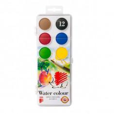 Set acuarele 12 culori Ico