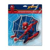 Sticker de perete cu led Spiderman SunCity, 20 x 20 cm