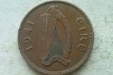 MONEDA 1 PENNY 1941-IRLANDA, Europa