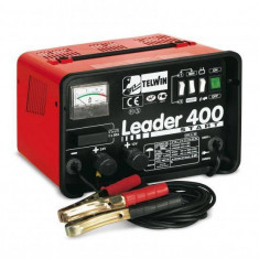 Redresor auto Telwin LEADER 400 START 230V Rosu