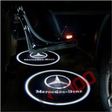 Proiectoare in portiera cu Logo Mercedes CLA, CLS, E Coupe