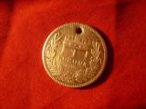 Moneda 1 koroana 1915 Ungaria Fr.Josef , argint , gaurita pt. medalion