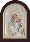 Icoana Argintata Maica Domnului de la Bethleem, 7.5*9.5cm Cod Produs 1653