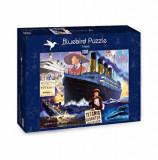 Puzzle Bluebird - Steve Crisp: Titanic, 1000 piese