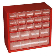 Cabinet Cutie depozitare obiecte mici 20 sertare 307x147x285 mm