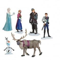 Disney Frozen Anna Elsa Kristoff Hans Sven Olaf - Plastic Figure 6pcs CG.010